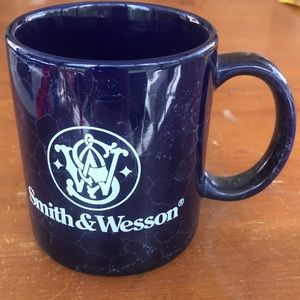 Smith & Wesson logo blue marble Coffee Mug